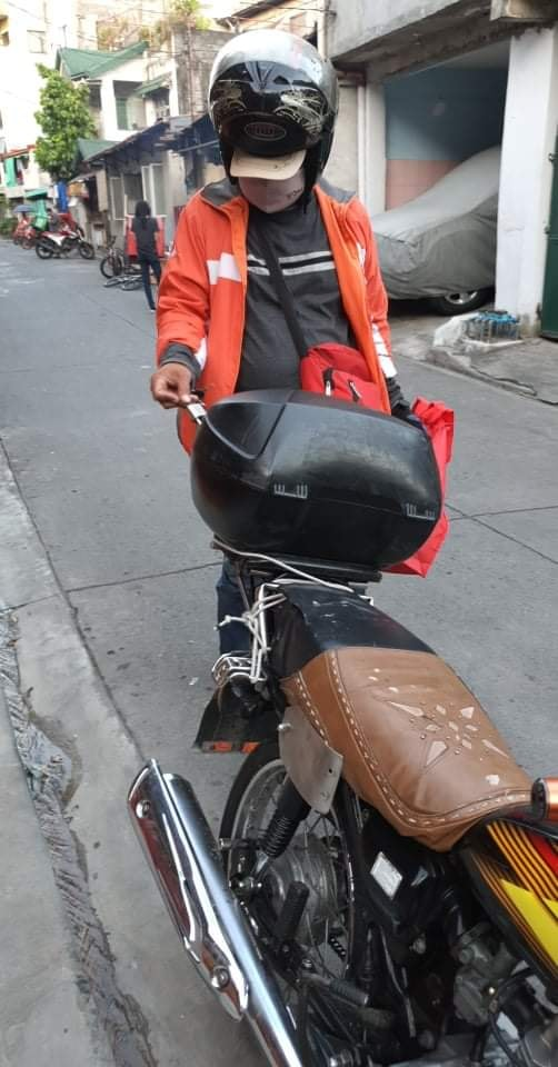 Lalamove delivery rider
