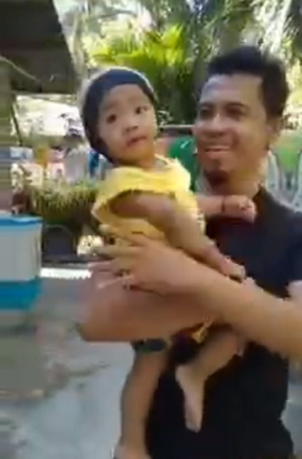dropping baby joke video