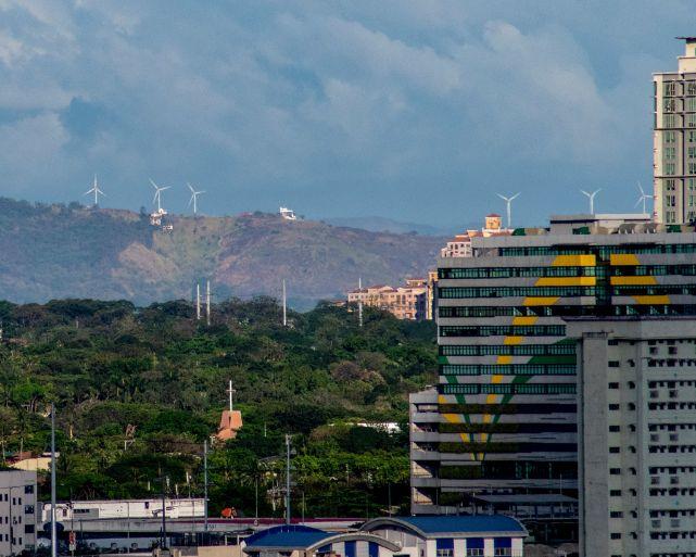 pilillia windmills seen from pasay