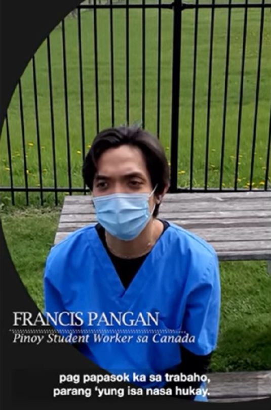 Pinoy nurse lost housekeeping job Canada