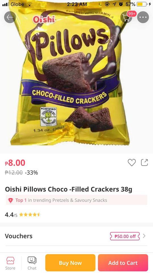 kid orders snacks from uncle's phone